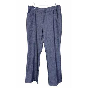 Akris Punto Linen Blend Dress Pants Women's 8